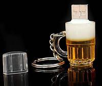 Прикольная USB флешка Пивная кружка 8 Gb