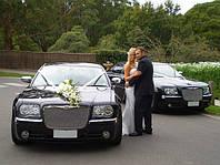 Аренда авто на свадьбу с водителем Украшения