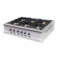 Плита газовая 6ти конфорочная Pimak МО15-6N с газовым контроллером