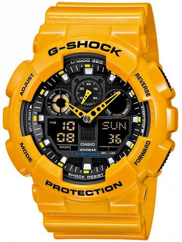 Наручные мужские часы Casio GA-100A-9AER оригинал