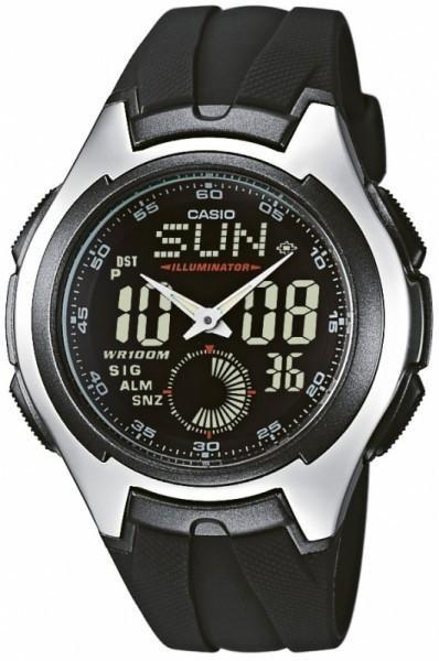 Наручные мужские часы Casio AQ-160W-1BVEF оригинал