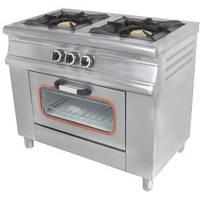 Плита газовая Pimak 2х конфорочная с духовкой