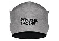 """Зимняя шапка с принтом """"Depeche Mode"""""""