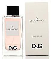 Женская туалетная вода Dolce&Gabbana 3 L'Imperatrice (женские духи дольче габбана императрица, лучшая цена) , фото 1