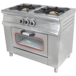 Плита газовая Pimak 2х конфорочная с духовкой МО15-2 с газконтролем