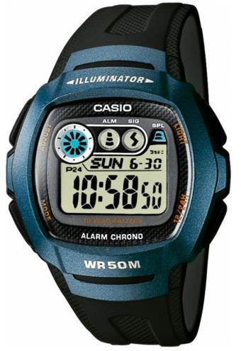 Наручные мужские часы Casio W-210-1BVEF оригинал