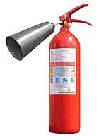 Углекислотный огнетушитель ВВК-1,4(ОУ-2)