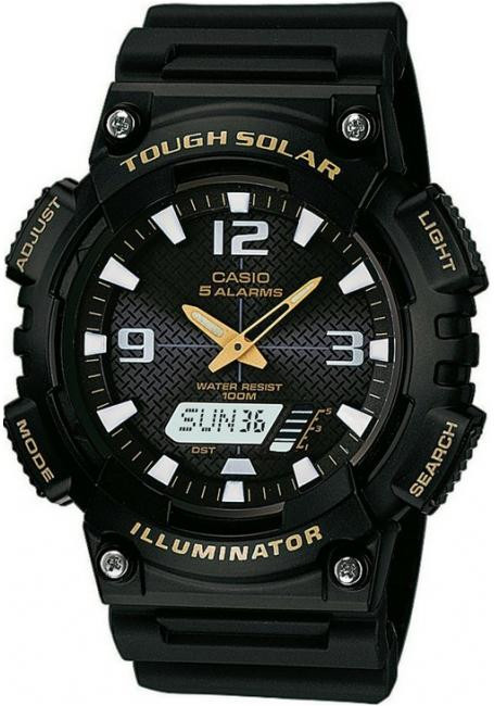 Наручные мужские часы Casio AQ-S810W-1BVEF оригинал