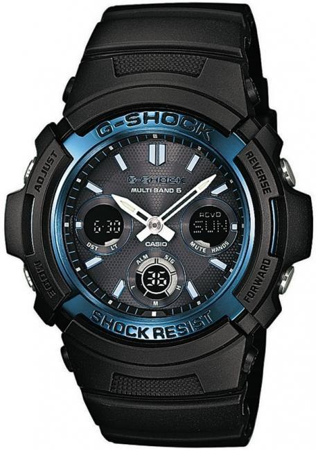 Наручные мужские часы Casio AWG-M100A-1AER оригинал