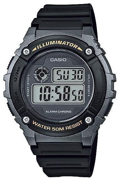 Наручные мужские часы Casio W-216H-1BVEF оригинал