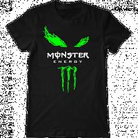 "Мужская футболка с принтом ""Monster Energy"""