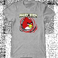 """Мужская футболка с принтом """"Angry Birds"""""""