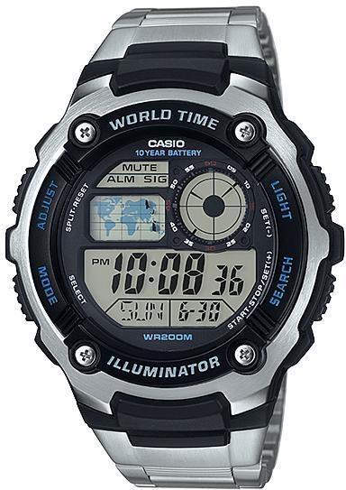 Наручные мужские часы Casio AE-2100WD-1AVEF оригинал