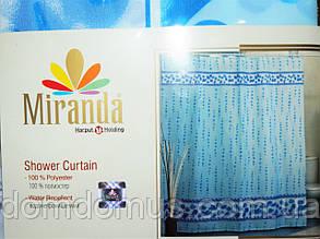 Штора для ванной комнаты Miranda 180*200, Турция