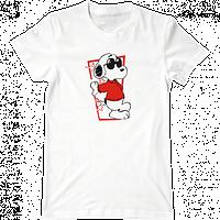 """Женская футболка с принтом """"Снуппи"""""""