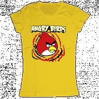 """Женская футболка с принтом """"Angry Birds"""""""