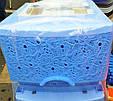 Комод пластиковый ажурный Efe Plastics, голубой, Украина, фото 2