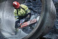 Алмазная резка бетона без пыли Киев.
