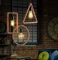 Подвесной светильник [ Form Loft Style ] (1- Lamp Edisons), фото 1