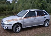 Дефлекторы окон (ветровики) COBRA-Tuning на VW POINTER HB 5D 2003/PARATI 1999-2005