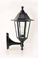Парковый светильник бра 6 стекол НС 06 Черный 2мод