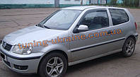 Дефлекторы окон (ветровики) COBRA-Tuning на VW POLO III 3D 1994-2001