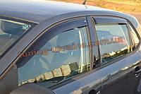 Дефлекторы окон (ветровики) COBRA-Tuning на VW POLO V HB 5D 2009-15