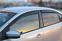 Дефлекторы окон (ветровики) COBRA-Tuning на VW POLO V SD 2009-15