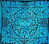 Покрывало Father Nature голубое