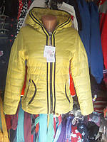Курточка демисезонная для девочки 7 - 12 лет