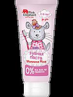 "Зубная паста ""Шиншилла Мила"" - Pink Elephant 50мл."