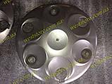Колпаки колесные заз 1102 1103 таврия славута светлосерый под завод, фото 3