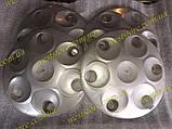 Колпаки колесные заз 1102 1103 таврия славута светлосерый под завод, фото 5