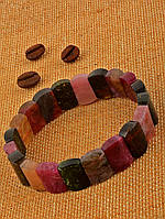 Красивый турмалиновый браслет