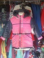 Демисезонная курточка парка для девочки 6 - 9 лет