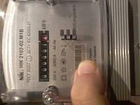 НИК 2102-02 М1В электросчетчик однофазный 5 (60)А бытовой счетчик электричества