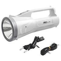 Портативный ручной фонарь YAJIA YJ-2822R, аккумуляторный светодиодный фонарь
