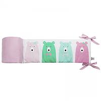 Cotton living - Защита в кроватку Funny Bears Pink