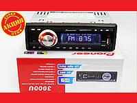 Автомагнитола Pioneer 3000U ISO Usb+Sd+Fm+Aux+ пульт