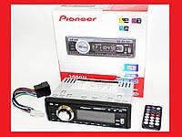 Автомагнитола Pioneer 3000U Usb+Sd+Fm+Aux+ пульт, фото 1