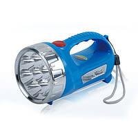 Аккумуляторный фонарь YAJIA YJ-2804, мощный светодиодный переносной фонарь