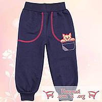 Детские штаны с начёсом Размеры: 86 и 92 см (4789-1)