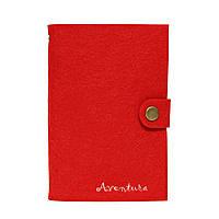 Блокнот Aventura Серия Felt Красный