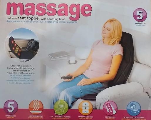 Массажная накидка Massage seat topper , фото 2