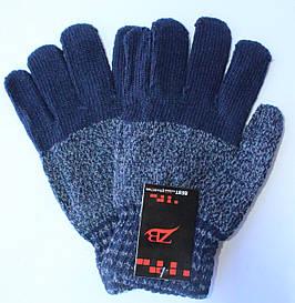 Шерстяные мужские перчатки 7-8
