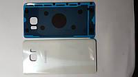 Крышка  задняя  Samsung N920, Galaxy Note5 белая original.