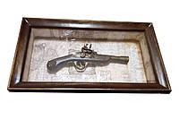 Картина деревянная Мушкет