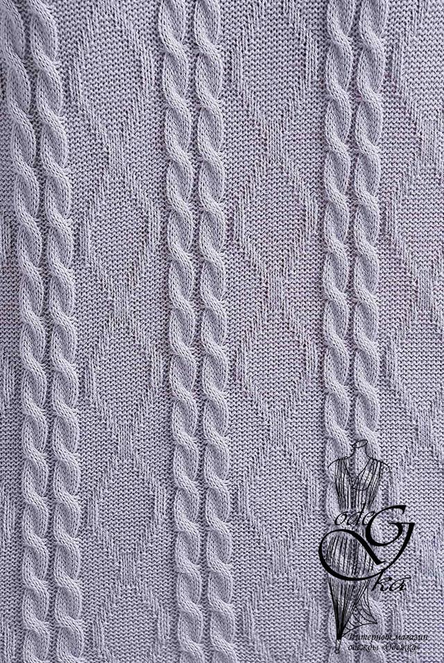 Темно-серый цвет Вязаного спортивного костюма Дениз-11