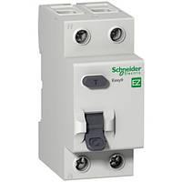 Дифференциальный выключатель нагрузки (УЗО) Easy9 2р 25А 30мА (EZ9R34225)