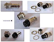 Коннекторы 2-х контактные, пара